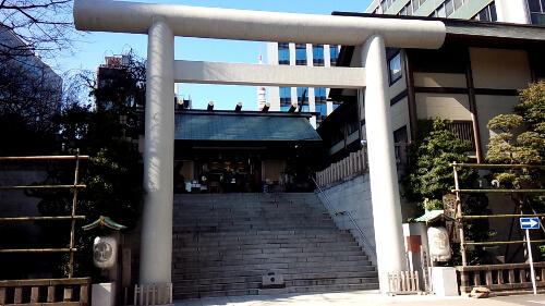 東京都港区芝大門にある芝神明神社